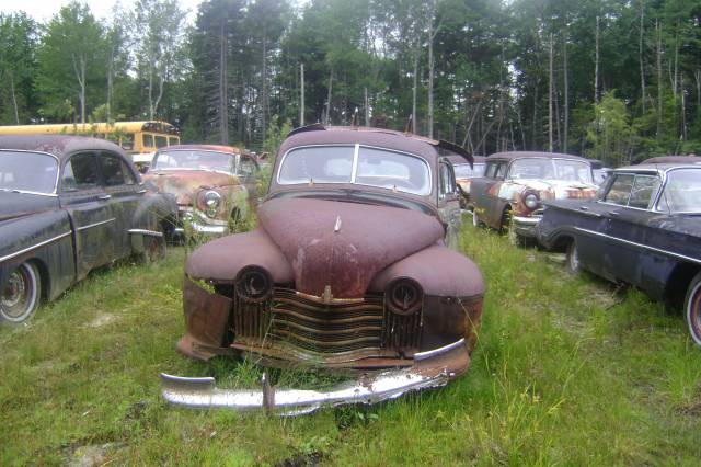 The Old Motor | An Entertaining & Informative Vintage ... |Salvage Yard