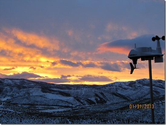 Sunset-Avon-Colorado-31JAN2013