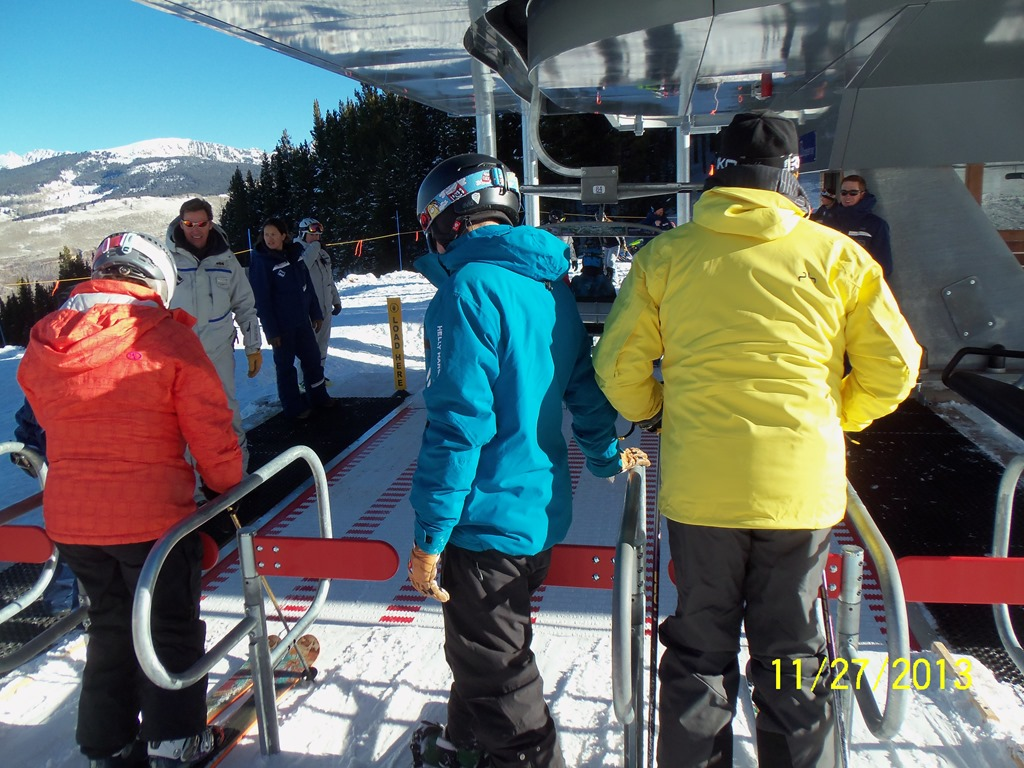 Vail s newest ski lift vs the obamacare web site news for Chair 4 cliffs vail