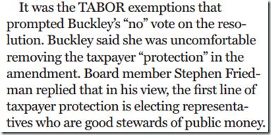 Buckley-Vote