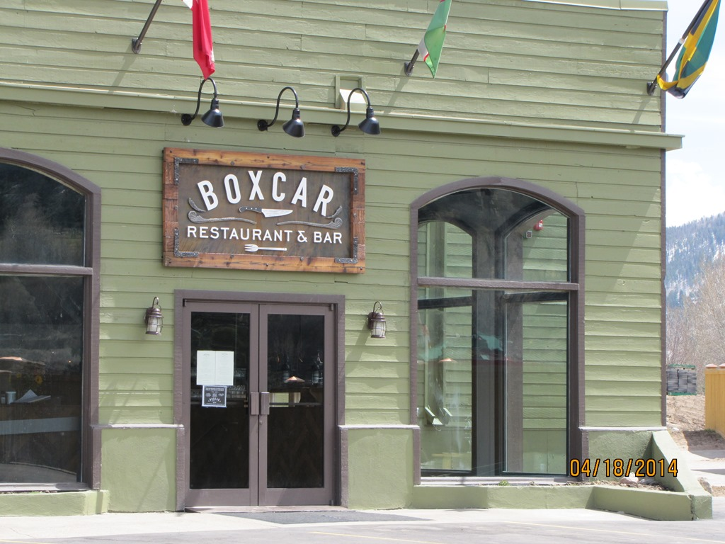 Avons New Boxcar Restaurant News From Eagle County Colorado