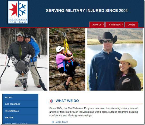 Vail-Veterans-Program