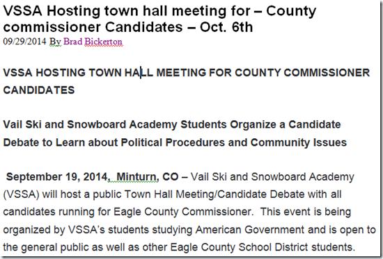 VSSA-Commissioner-Debate