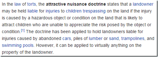 Attractive-Nuisance