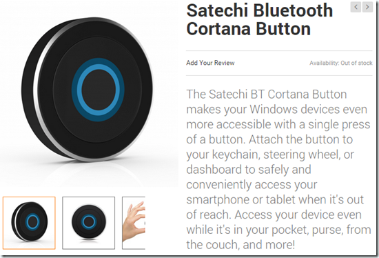 Cortana-Bluetooth-Button