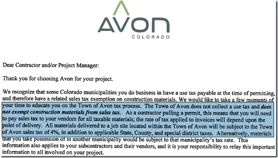Avon's-Use-Tax