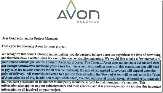 Avon's-Use-Tax