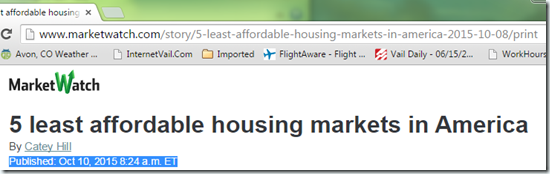 Least-Affordable