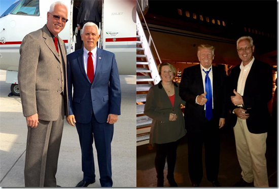 Trump-Pence-Sheriff-VanBeek
